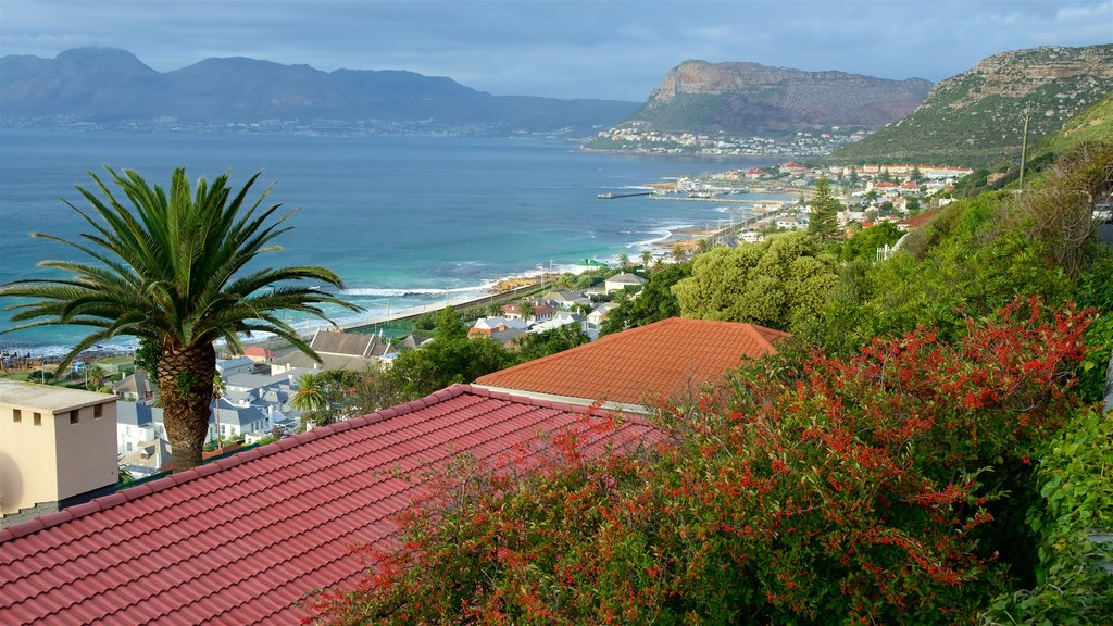 Kalk Bay which includes a coastal town and general coastal views