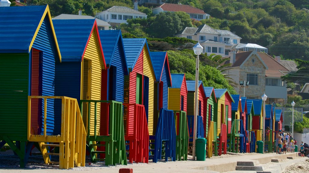 Ciudad del Cabo mostrando una ciudad costera