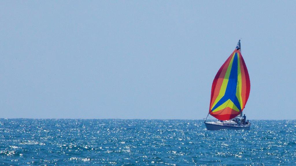 Playa de Venice ofreciendo navegación