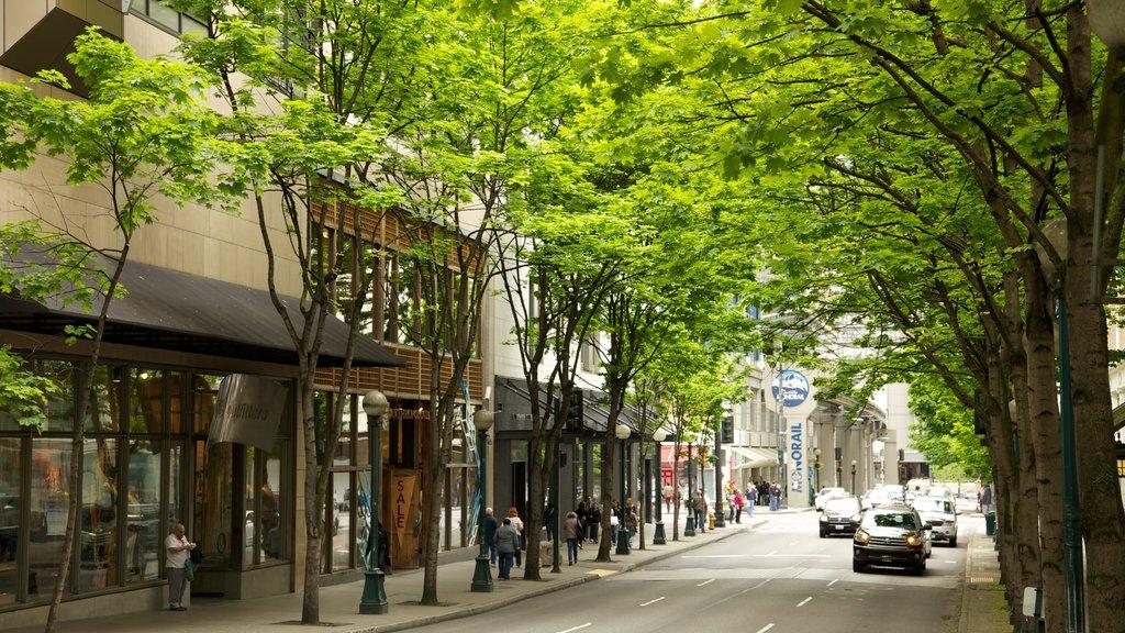 Seattle ofreciendo una ciudad y escenas urbanas