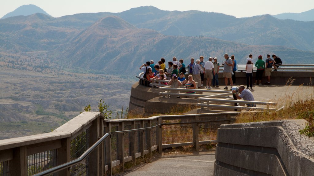 Mount St. Helens which includes landscape views, mountains and views