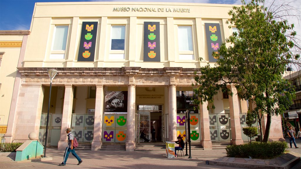 National Museum of Death featuring a square or plaza