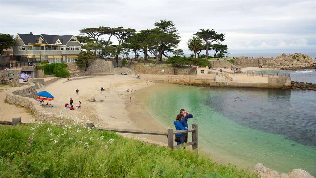 Pacific Grove which includes a beach and general coastal views as well as a couple
