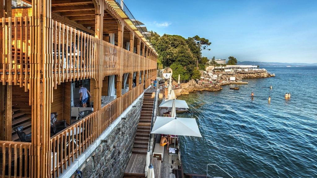 Abbazia Croazia Spiagge: Angiolina Opatija
