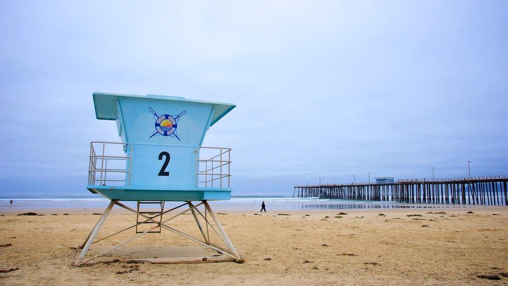 Pismo Beach featuring a sandy beach