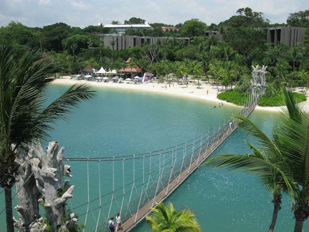 Mare a Singapore: le 10 spiagge più belle Siloso beach