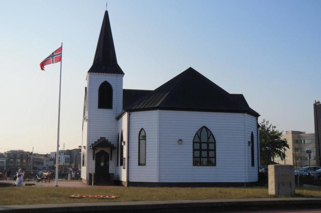 Baia di Cardiff: Chiesa norvegese