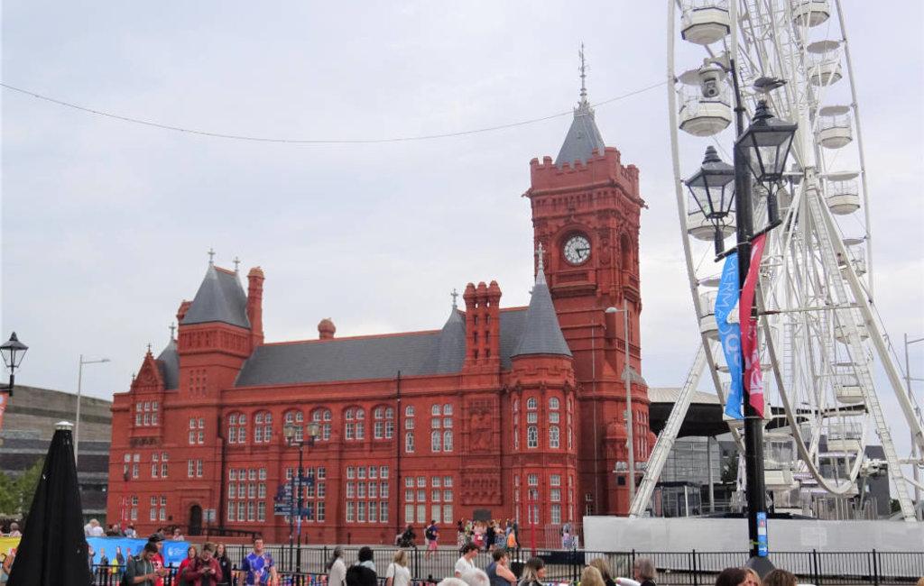 Baia di Cardiff: Pierhead