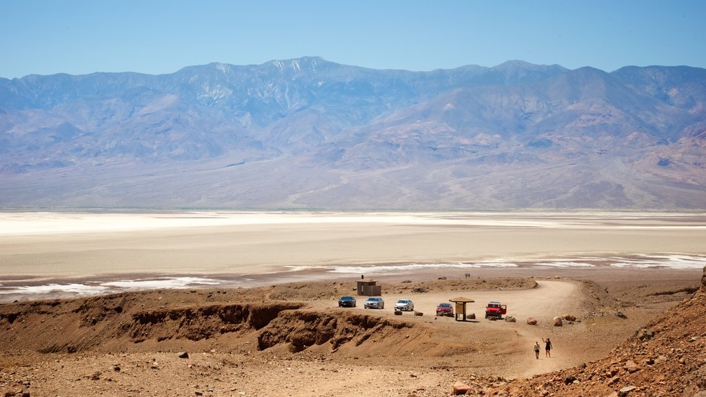 Death Valley National Park which includes mountains, landscape views and desert views