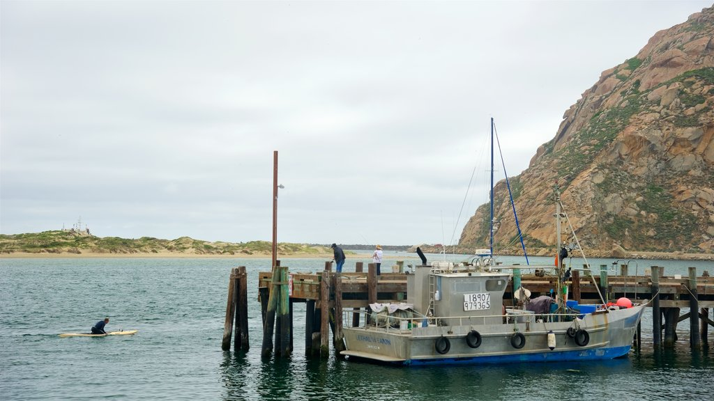 Morro Bay featuring a bay or harbor