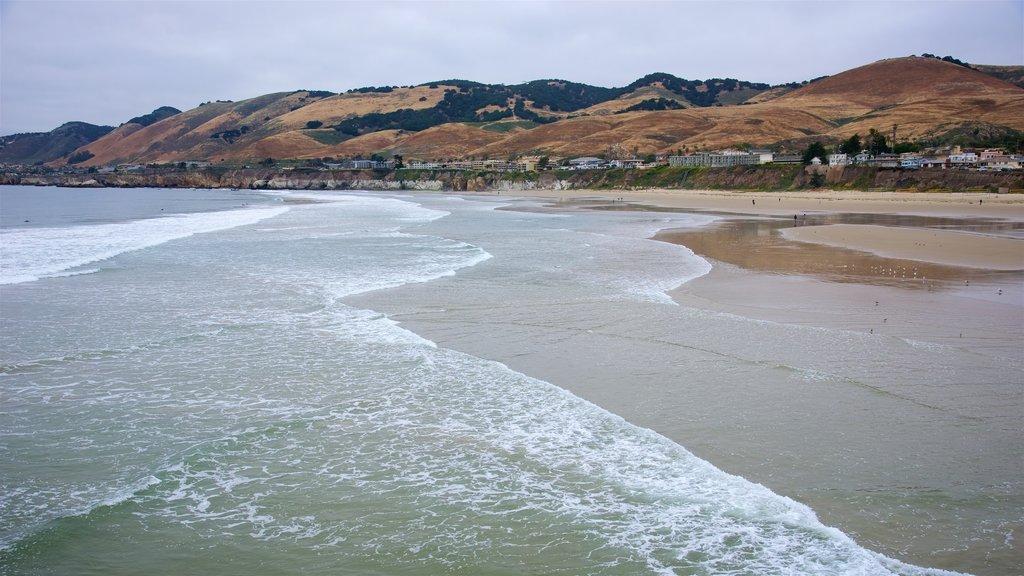Pismo Beach featuring a sandy beach and general coastal views