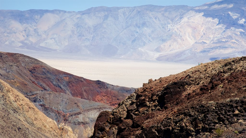 Death Valley showing desert views and tranquil scenes