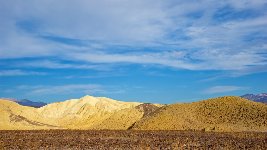 Death Valley which includes desert views, landscape views and tranquil scenes