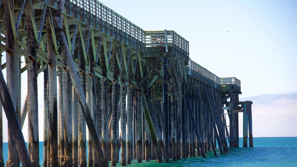 San Simeon Pier featuring general coastal views