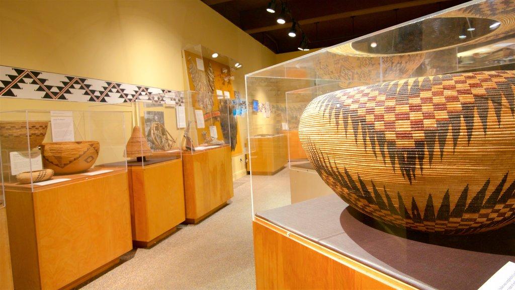 Yosemite Museum Gallery featuring interior views