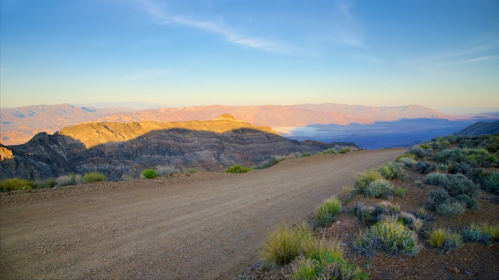 Death Valley which includes landscape views and tranquil scenes