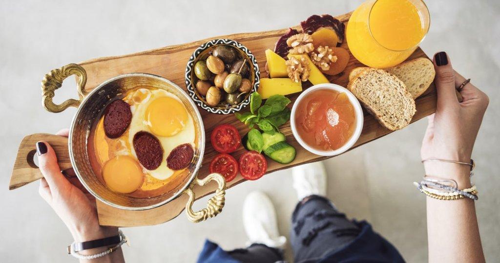 Petit-déjeuner traditionnel - Turquie