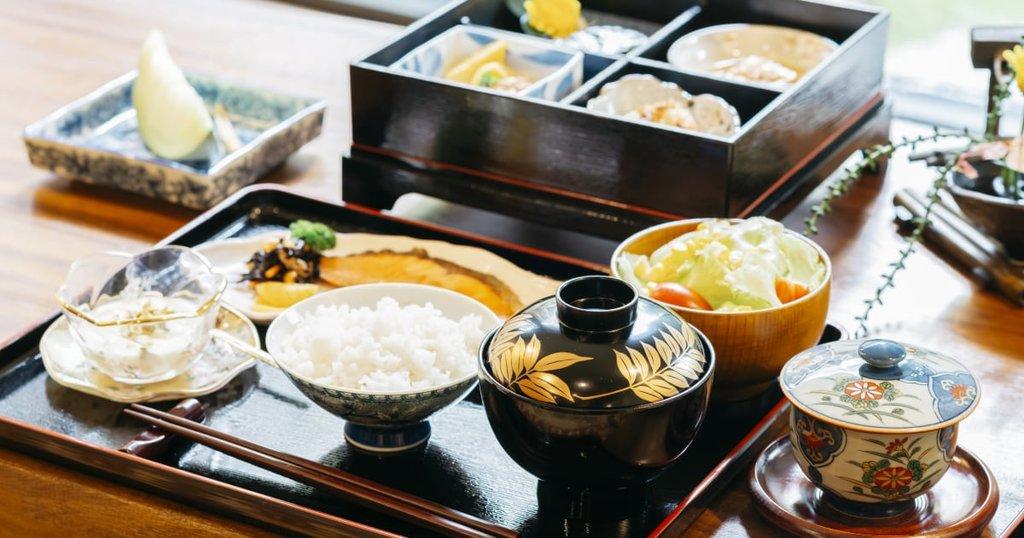 Petit-déjeuner traditionnel - Japon