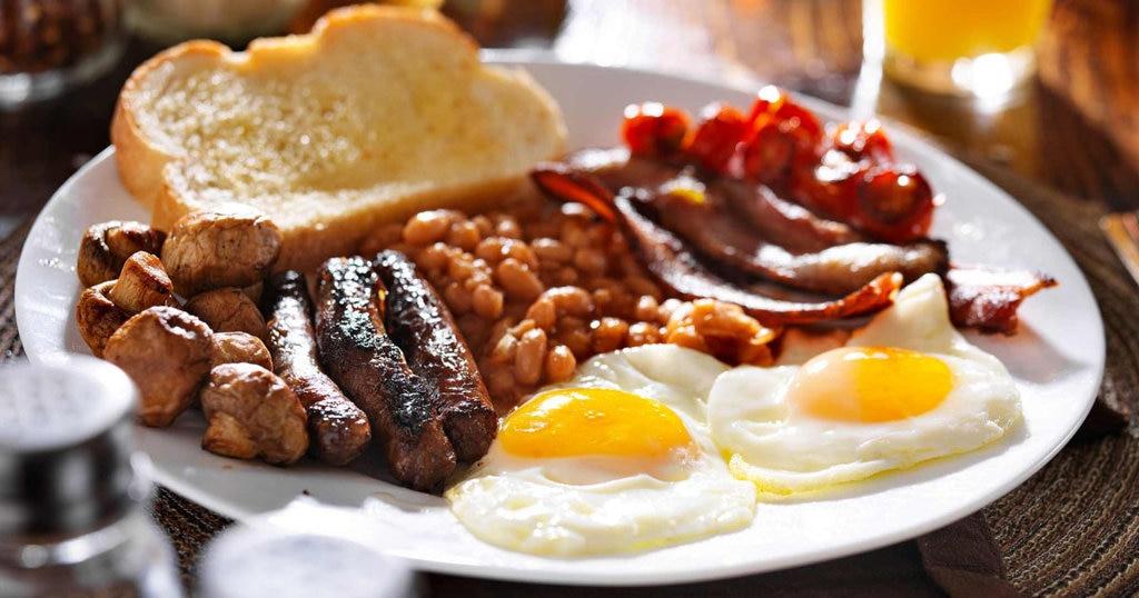 Le petit-déjeuner anglais ou fry-up - Royaume-Uni