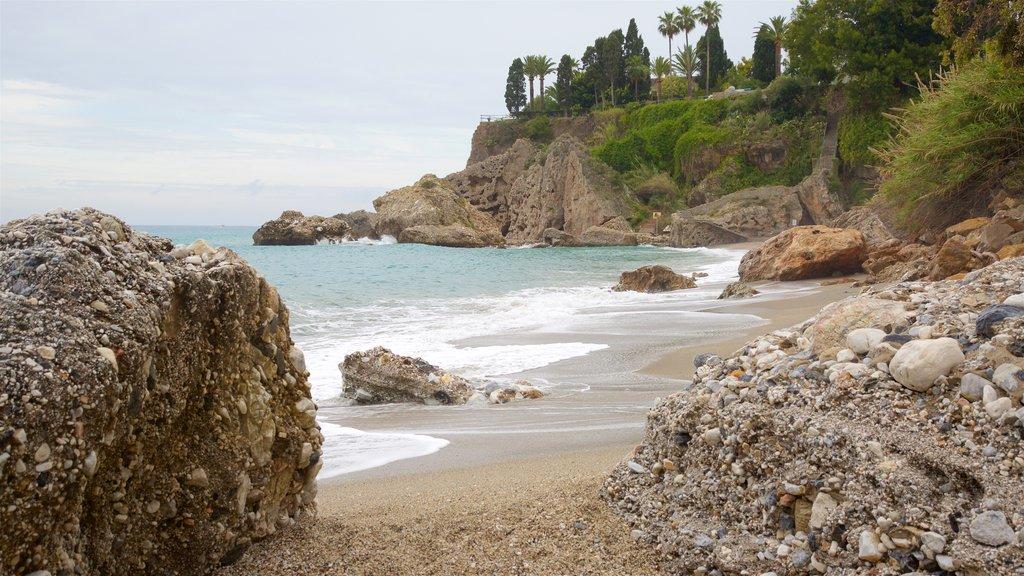 Burriana Beach showing a beach