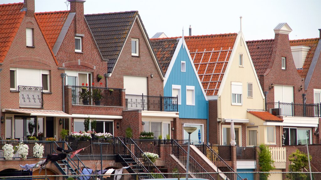 Volendam featuring a house and a small town or village