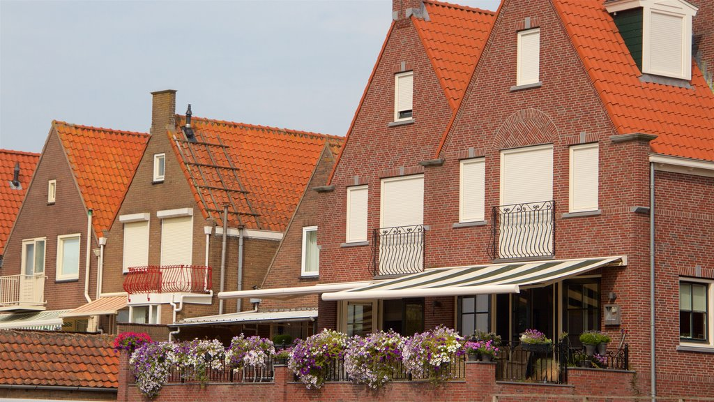 Volendam showing a house