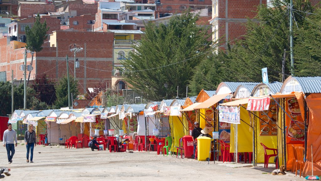 Copacabana featuring markets and street scenes