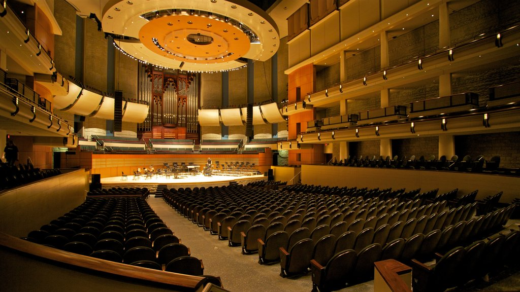 Winspear Centre showing theater scenes and interior views