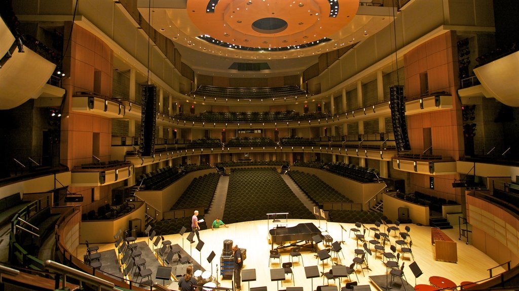 Winspear Centre which includes interior views and theater scenes