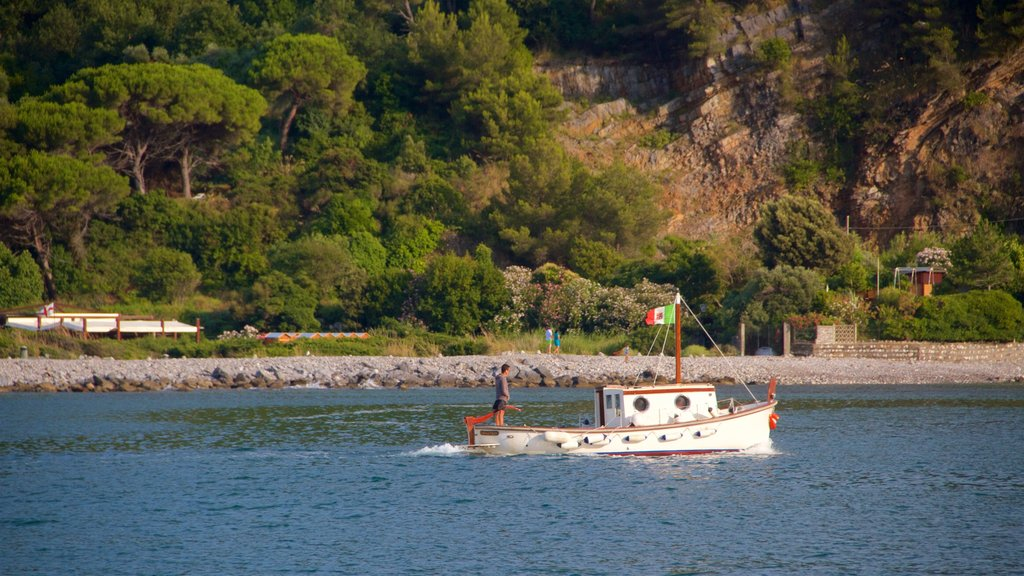 Portovenere showing boating