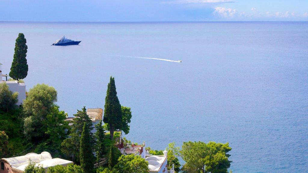 Amalfi showing boating and general coastal views