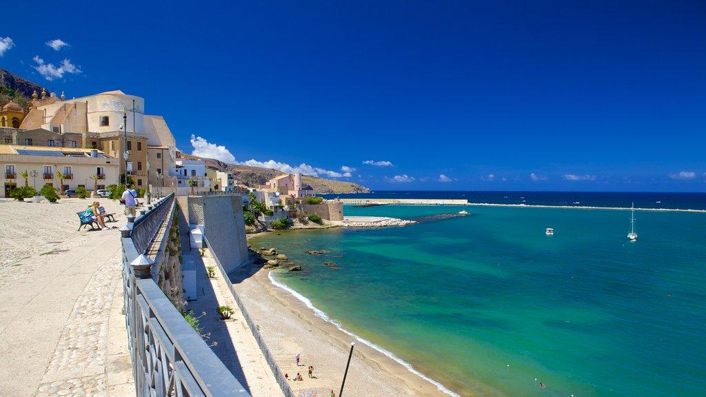 Castellammare del Golfo which includes general coastal views, a coastal town and tropical scenes