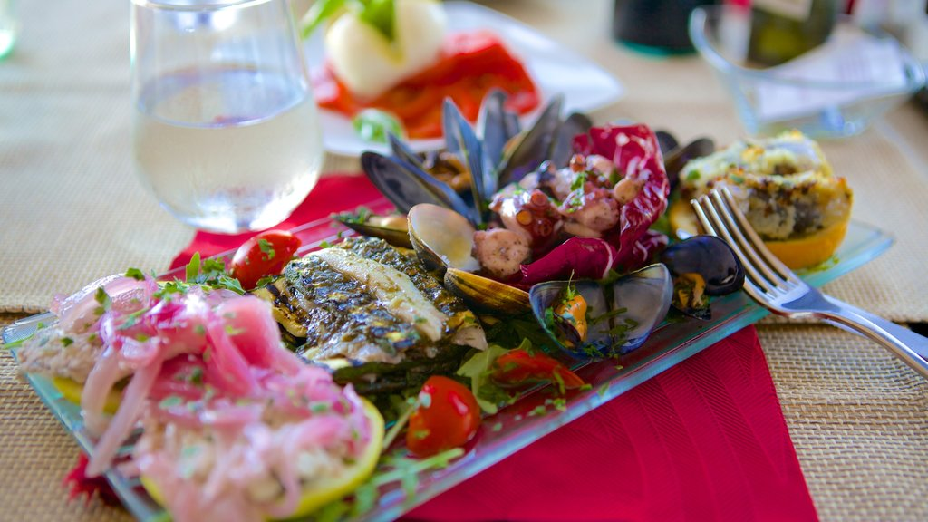 Castellammare del Golfo featuring food