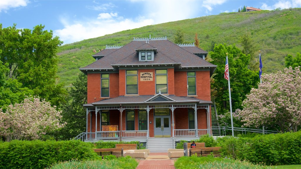 Park City showing tranquil scenes and a house