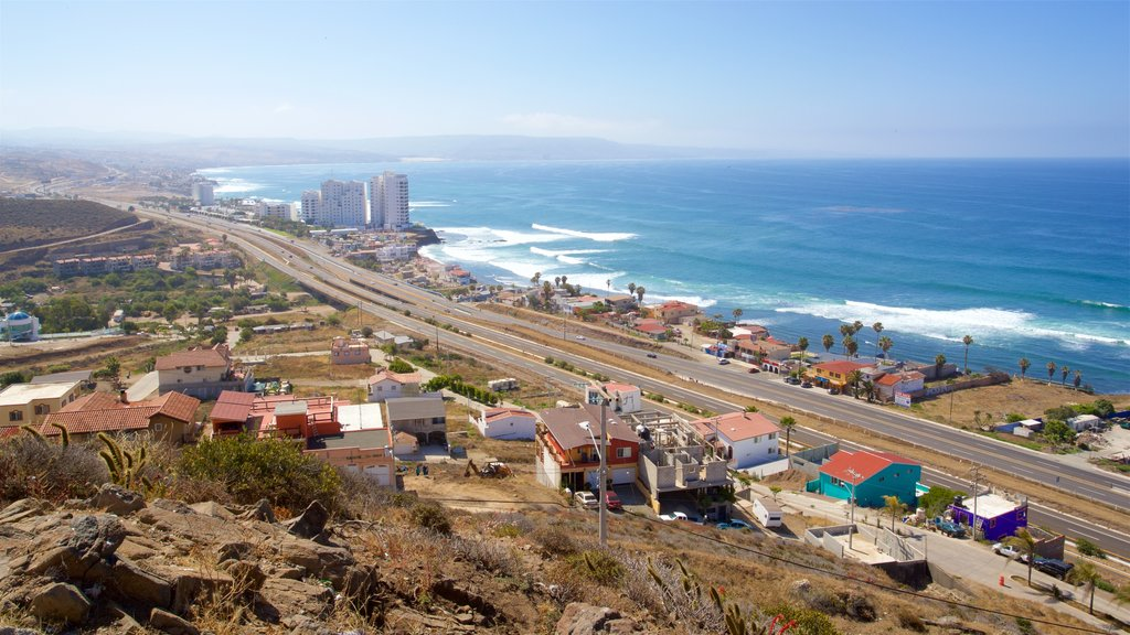 Rosarito which includes general coastal views, tropical scenes and landscape views