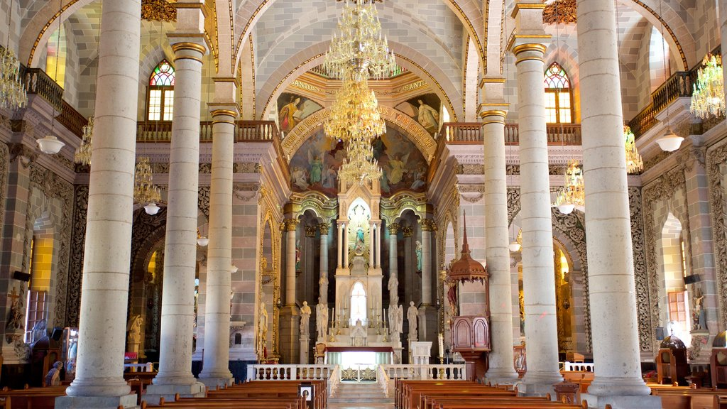 Immaculate Conception Cathedral which includes heritage architecture, a church or cathedral and interior views