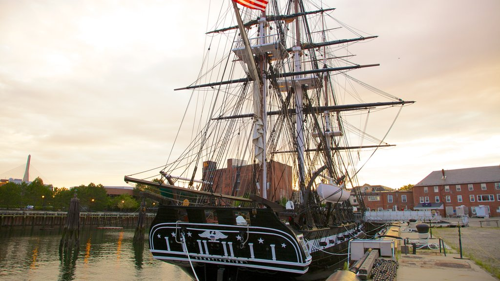 The Freedom Trail which includes sailing and a marina