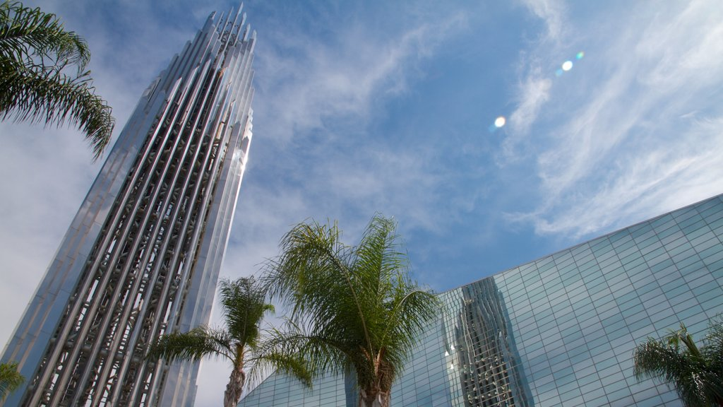 Crystal Cathedral which includes religious aspects, a city and a church or cathedral