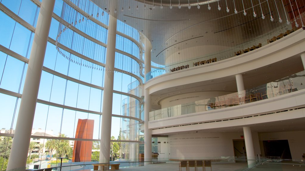 Segerstrom Center for the Arts which includes art and interior views