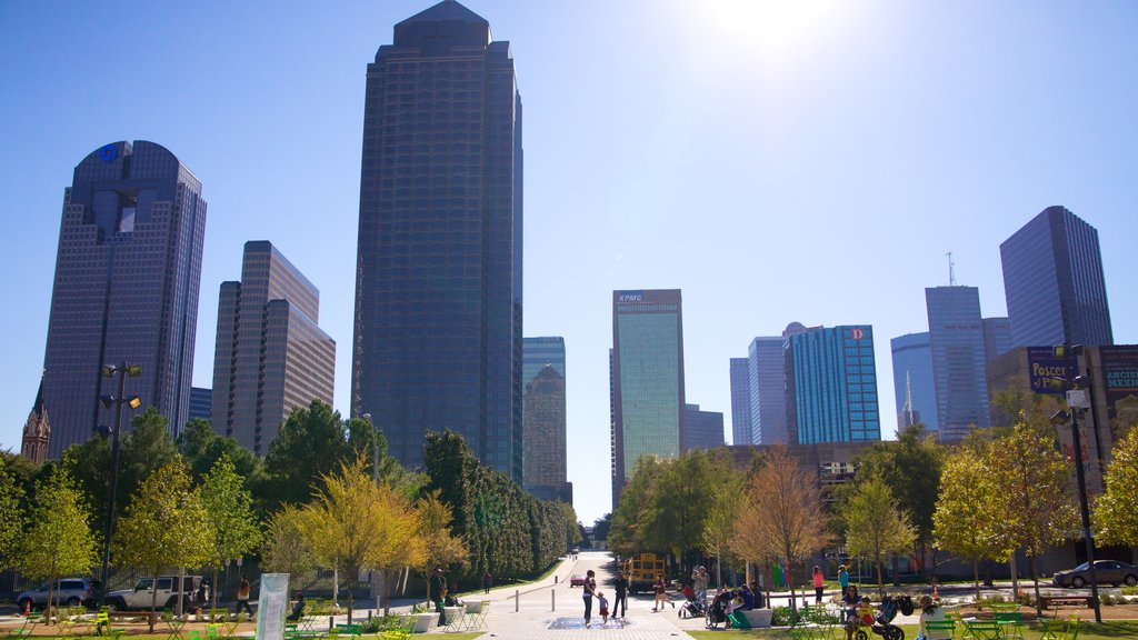 Dallas featuring a city, a high rise building and skyline