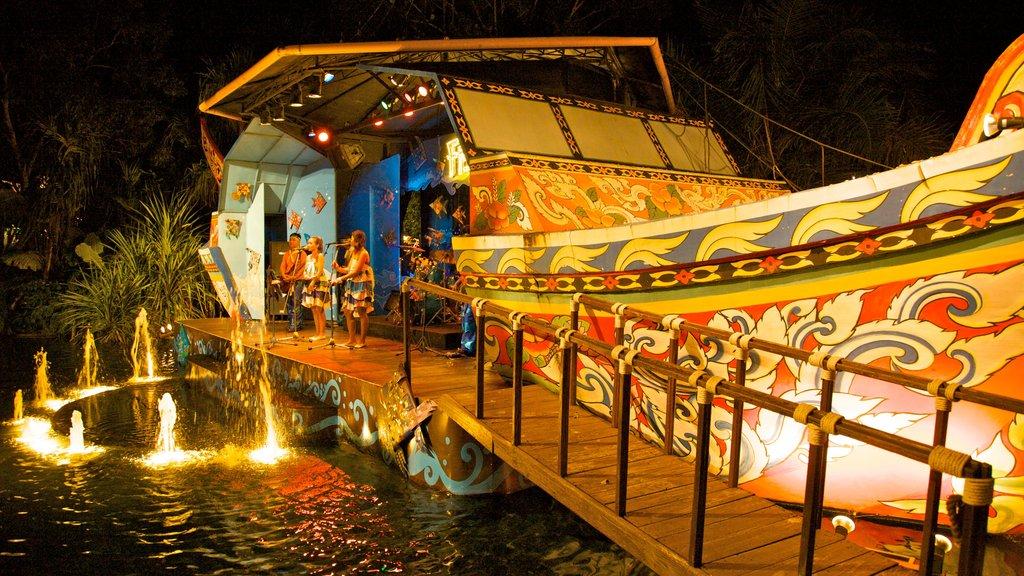 Phuket - Phang Nga featuring nightlife, night scenes and a bridge