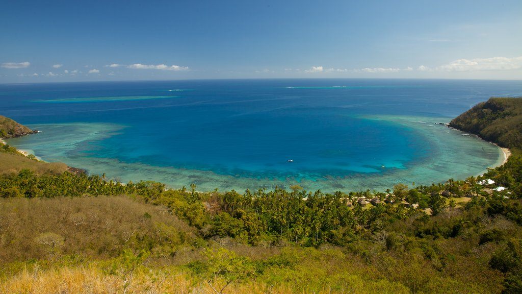 Yasawa Islands featuring landscape views, tropical scenes and general coastal views