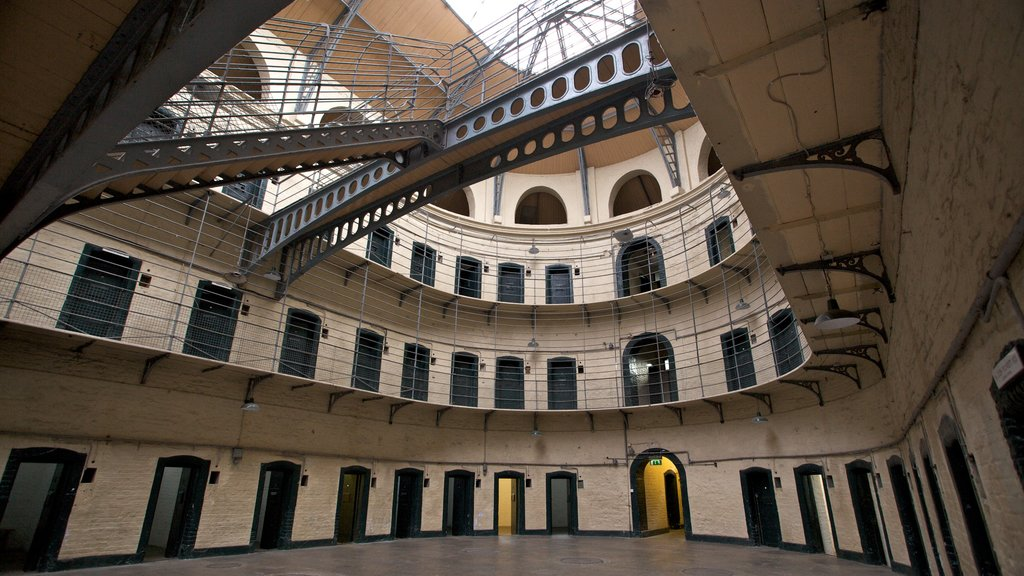 Kilmainham Gaol Historical Museum which includes interior views