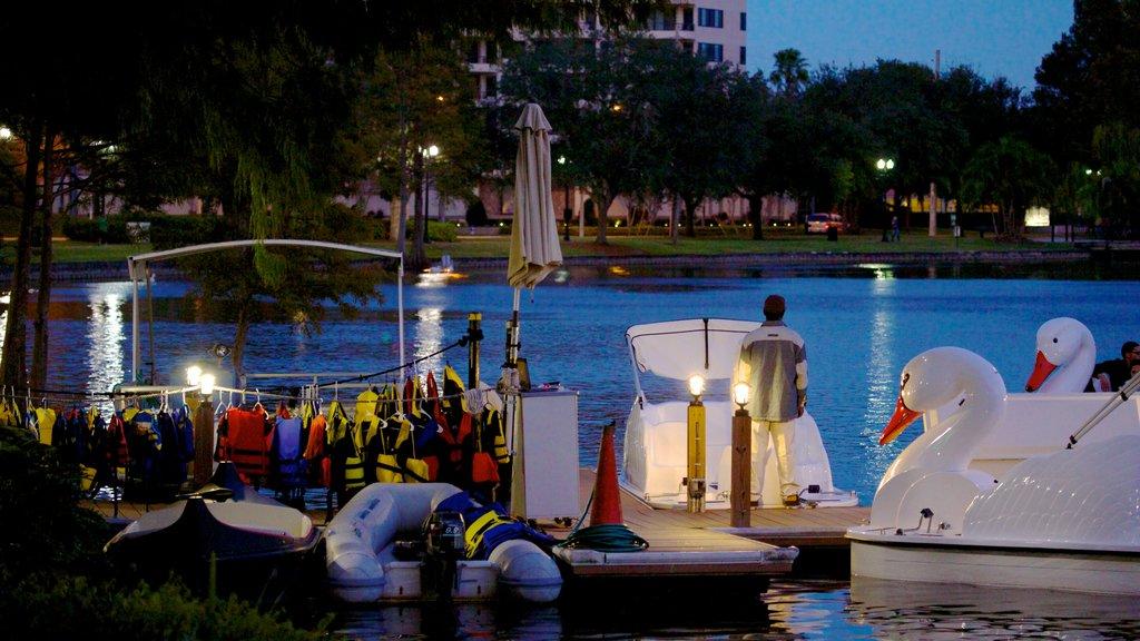 Orlando showing a bay or harbor, a city and general coastal views