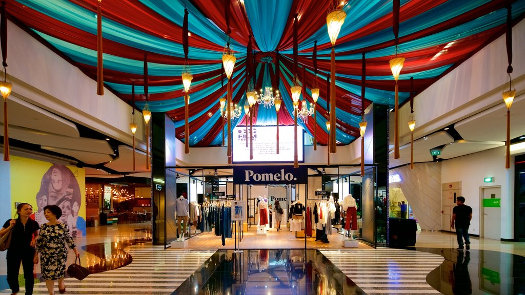 Grand Indonesia Shopping Mall showing shopping and interior views