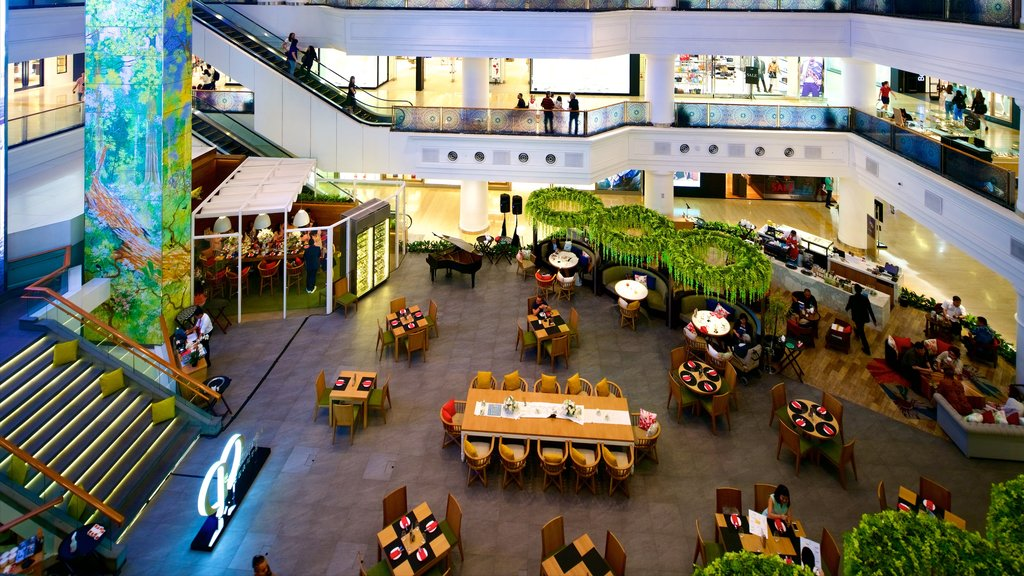 Grand Indonesia Shopping Mall which includes shopping and interior views