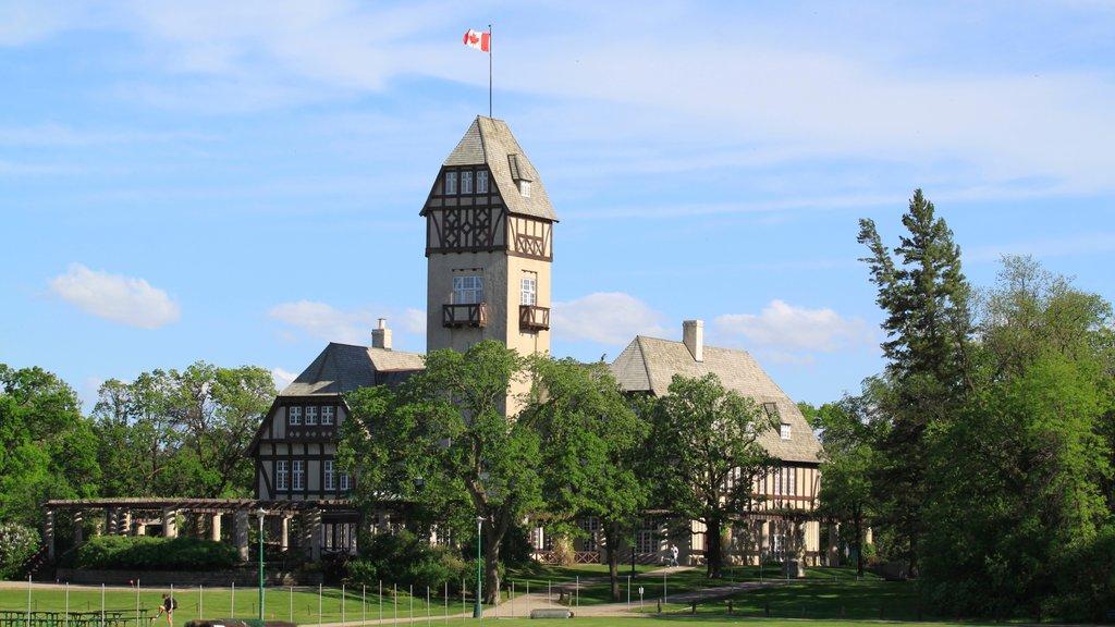 Winnipeg mostrando un jardín