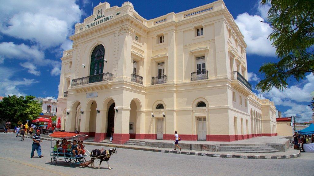 Santa Clara featuring heritage architecture