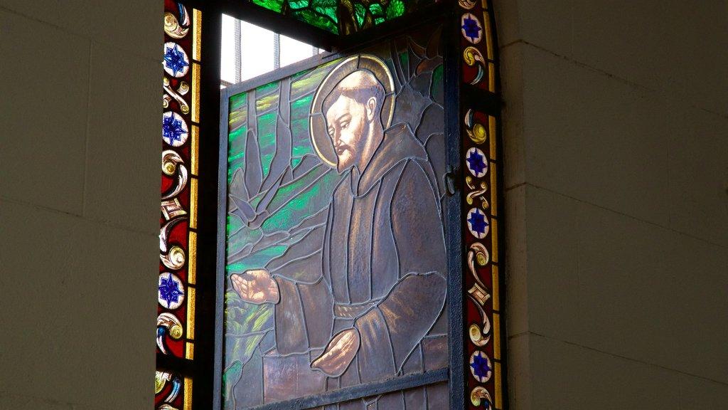 Santa Clara featuring religious elements