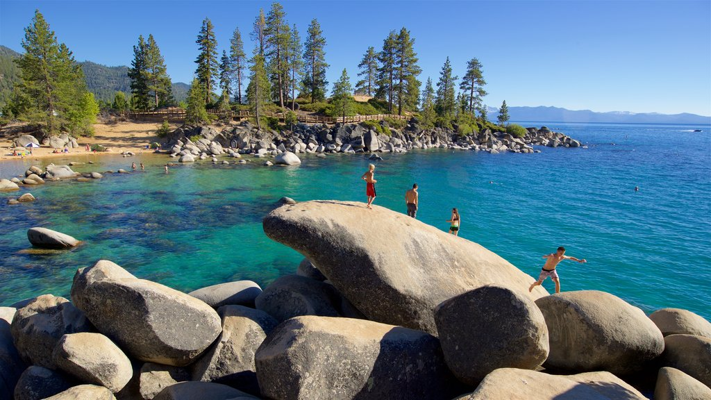 Sand Harbor of Lake Tahoe Nevada State Park